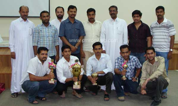 Winners in Inter mahal games in qatar