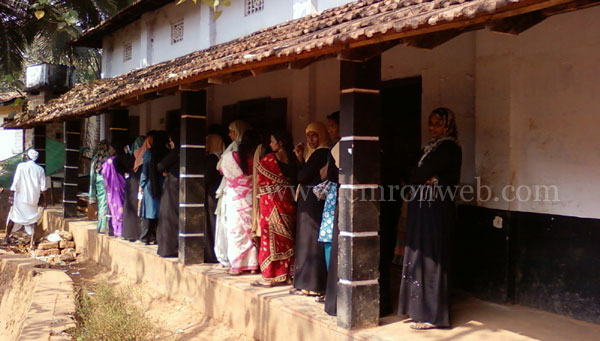 Assembly election at chennamangallur
